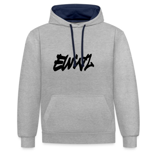 ewinz - Sweat-shirt contraste