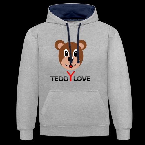 TEDDYLOVE COUTURE - Kontrast-Hoodie