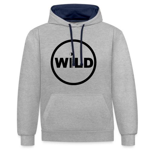 WILD DESIGN! - Contrast hoodie