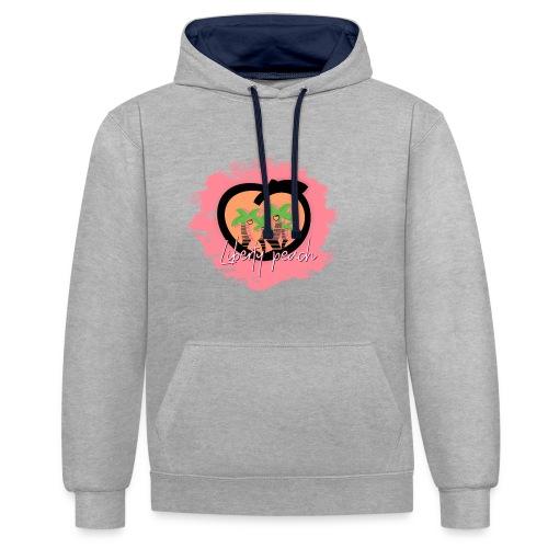 Liberty Peach City - Sweat-shirt contraste