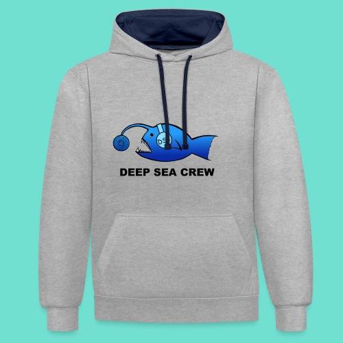 DeepSeaCrew - Kontrast-Hoodie