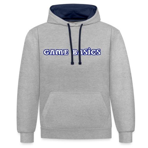 Game Basics Design - Kontrast-Hoodie