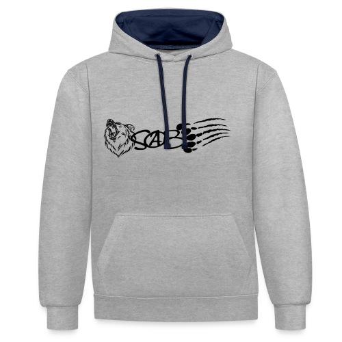 SOAB Merch - Kontrast-Hoodie