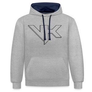 vK - Contrast Colour Hoodie