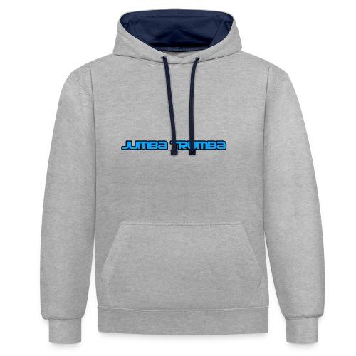 Jumba Trumba Spreadshirt - Contrast Colour Hoodie