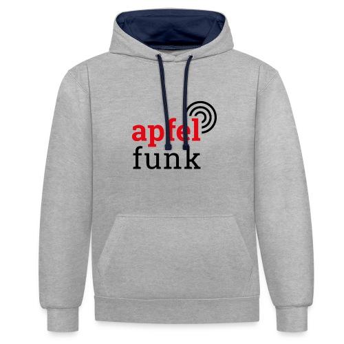 Apfelfunk Edition - Kontrast-Hoodie