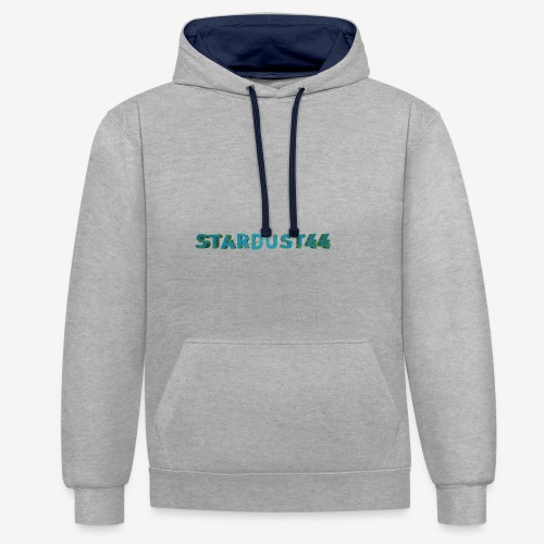 Stardust44 Intro Design - Kontrast-Hoodie