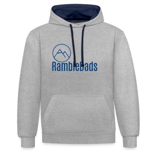 RambleDads - Contrast Colour Hoodie