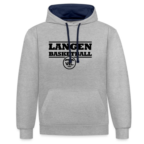 TV Langen Basketball - Kontrast-Hoodie