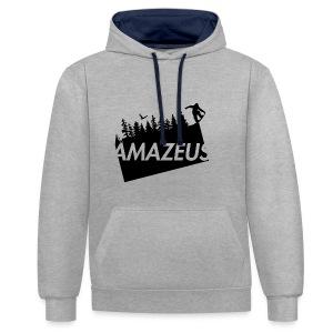 AmaZeus Board - Kontrast-Hoodie