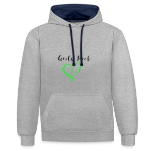 GirlsRock - Contrast Colour Hoodie