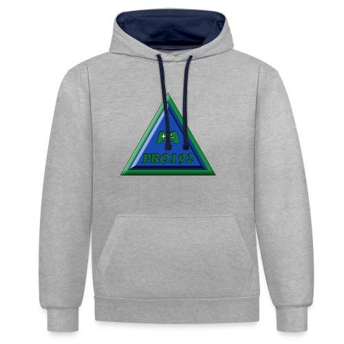 Progamer192 Illuminati t-shirt ( teenager ) - Contrast hoodie