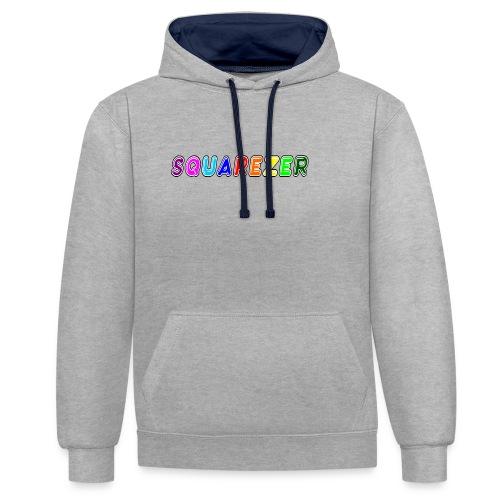 Buble Square - Sweat-shirt contraste