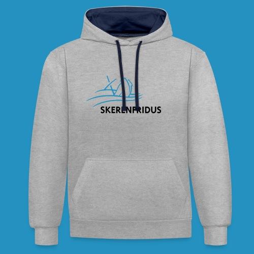 Skerenfridus logo - Contrast hoodie