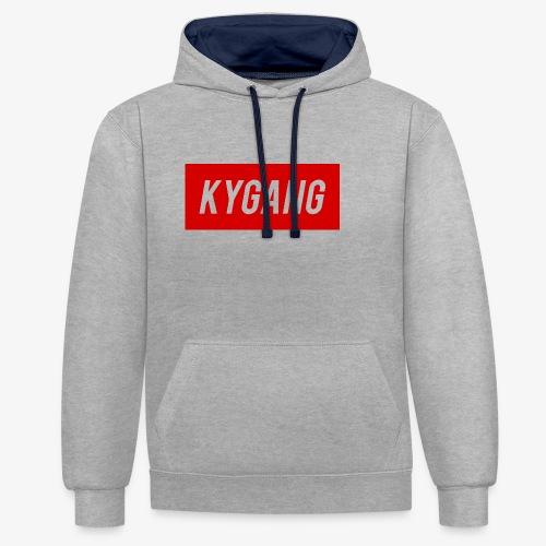 Kygang Merch - Contrast Colour Hoodie