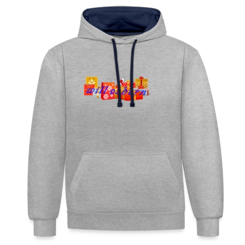 will osborn Christmas Gifts - Contrast Colour Hoodie