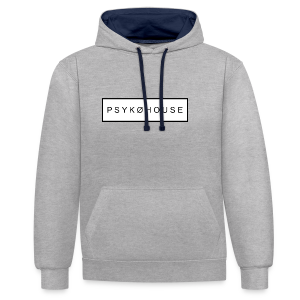 PSYKO HOUSE - Contrast Colour Hoodie