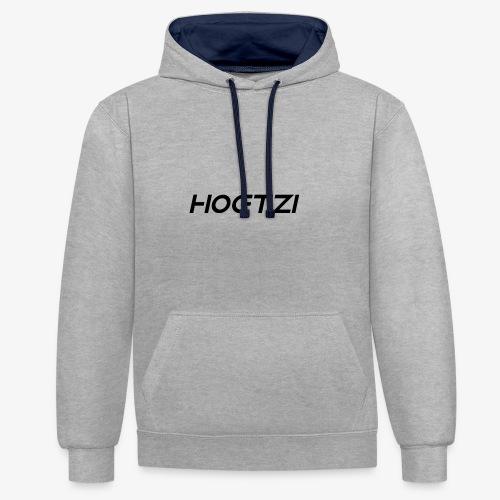 HOETZI - Kontrast-Hoodie