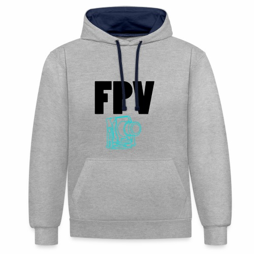 FPV - Sweat-shirt contraste