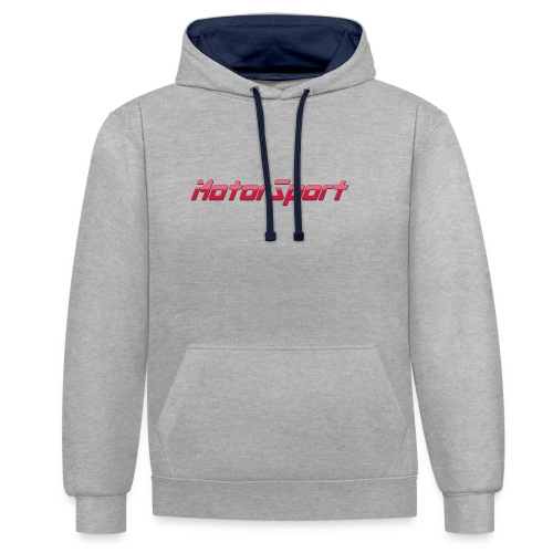 MotorSport - Sweat-shirt contraste