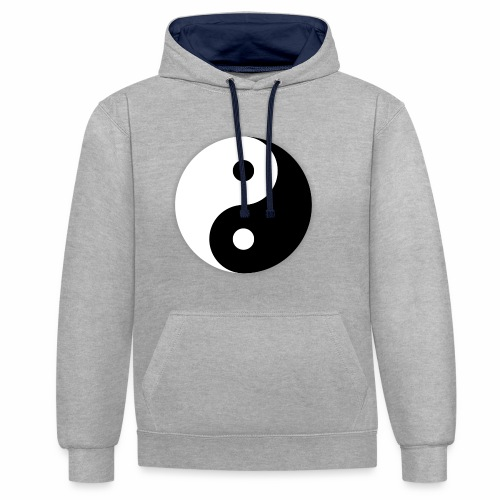 Yin Yang - Sweat-shirt contraste