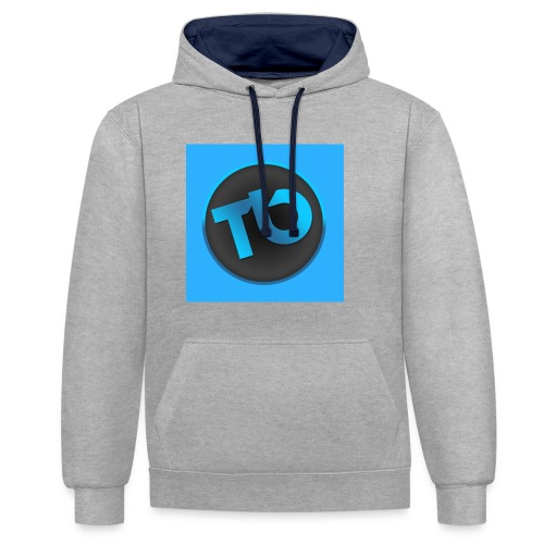 tb - Contrast hoodie