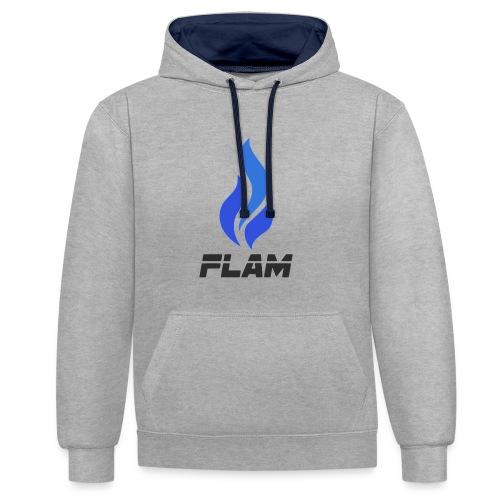FLAM Fortunate - Sweat-shirt contraste