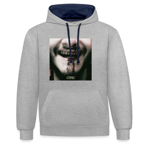 STRESS - Contrast Colour Hoodie