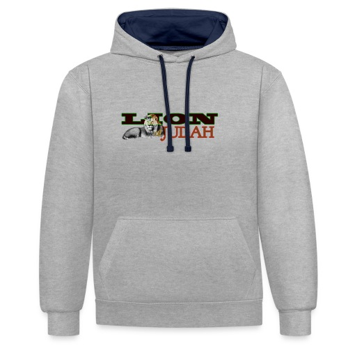 Tribal Judah Gears - Contrast Colour Hoodie