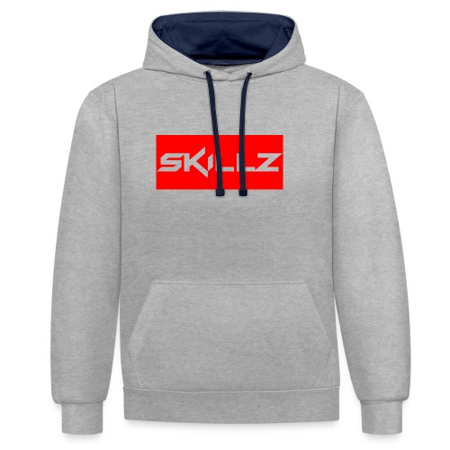 SKILLZ - Contrast Colour Hoodie