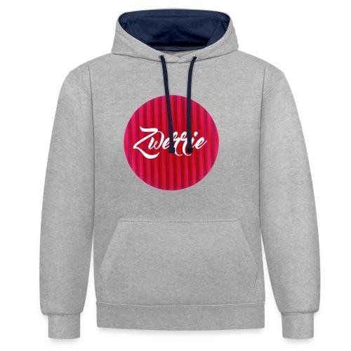 zwerrie-logo-png - Contrast hoodie