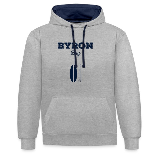 Byron Bay - Contrast Colour Hoodie