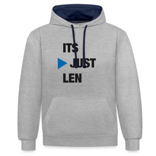 ItsJustLen - Kontrast-Hoodie