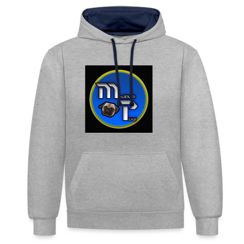 MagnumPug channel - Contrast Colour Hoodie