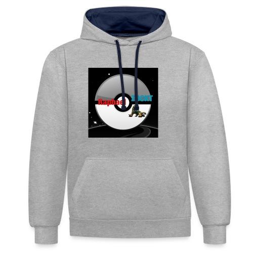 Cooles Kapuzenshirt - Kontrast-Hoodie