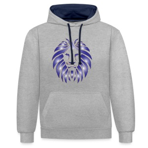 Lion Hunter - Contrast Colour Hoodie