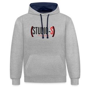 Basic logocut tanktop - Contrast hoodie