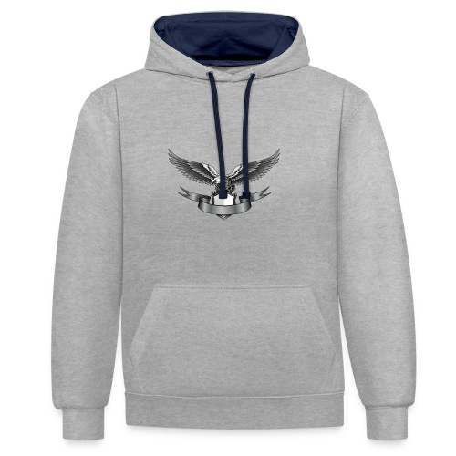 Eagle - Sweat-shirt contraste