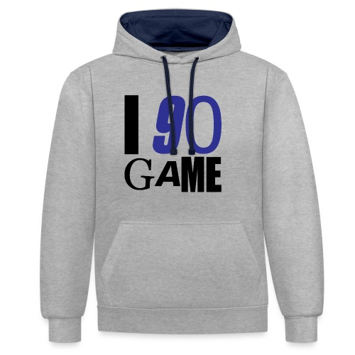 I 90 GAME - Sweat-shirt contraste