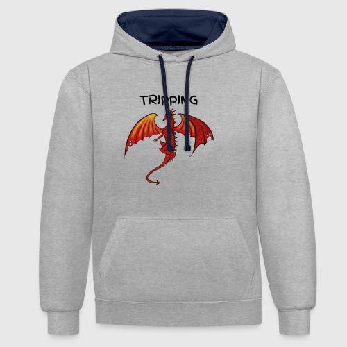 tripping - Contrast hoodie