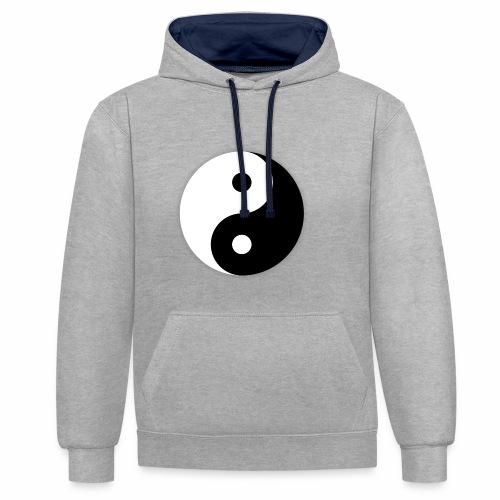 Yin Yang - Sweat-shirt contraste