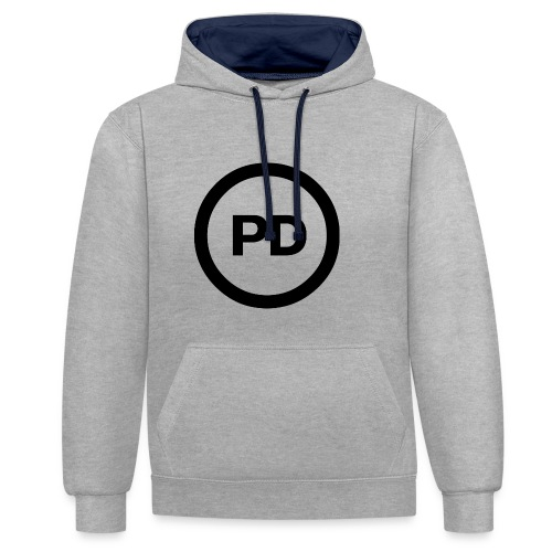 PD - Kontrast-Hoodie