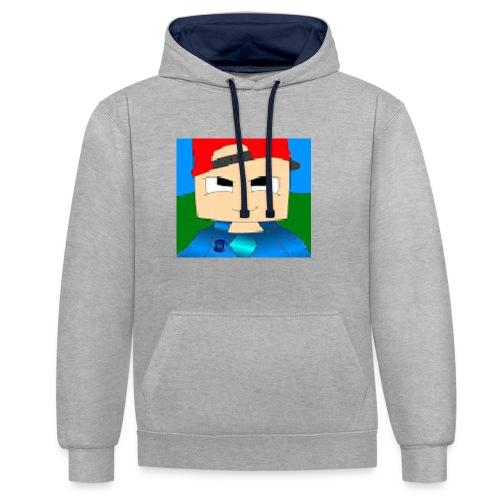 DCGARMY - Contrast hoodie