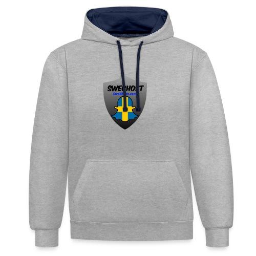 Sweghost t-shirt - Kontrastluvtröja