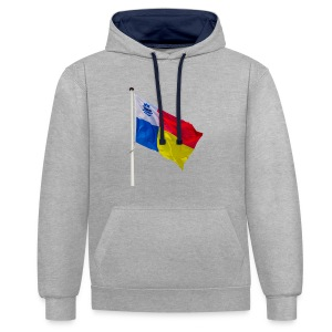 Almere Vlag Only - Contrast hoodie