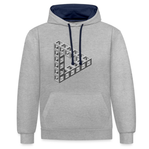 The Penrose - Contrast Colour Hoodie
