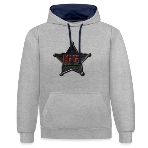 Grandiose Gamer - Contrast Colour Hoodie