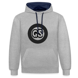 GS CLOTHES - Contrast Colour Hoodie