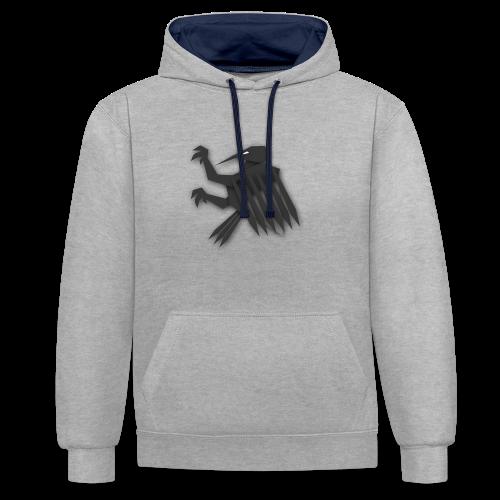 Nörthstat Group ™ Black Alaeagle - Contrast Colour Hoodie