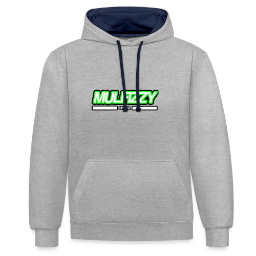 Mulfizzy T-Shirt - Contrast Colour Hoodie